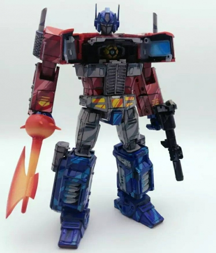 Transformer Toy Non-brand Masterpiece MP10CS Optimus Prime Cell Shaded Version