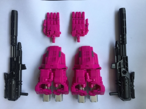LOOSE upgrade kit for Transformer Toy Power of the Primes Combiner Wars Abominus ordin POTP