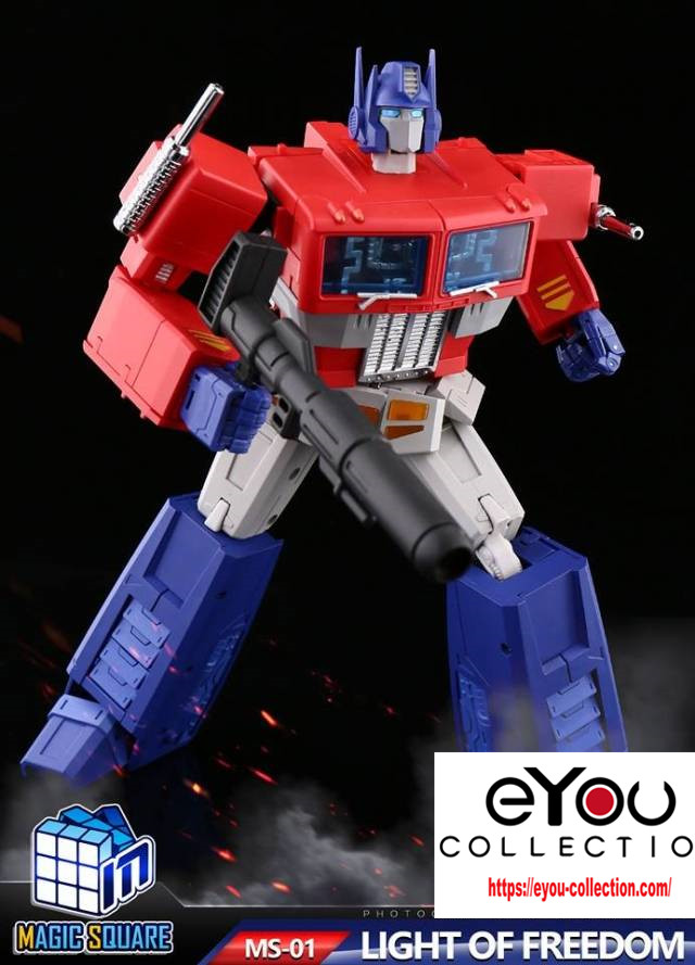 NEW Transformers MS-TOYS MS-01 Optimus Prime Robot Action Figure