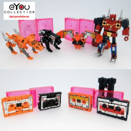 Transformer Toy Masterpiece Takara Tomy MP-15E/16E Cassettebot VS. Cassettron Exclusive Limited
