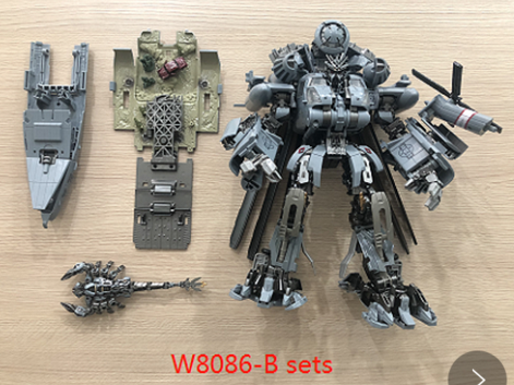 Transformer Toy Weijiang WJ M-05 M05 Hide Shadow Blackout Oversized Studio Series SS08 SS-08 Night Blades Set B Deluxe Version