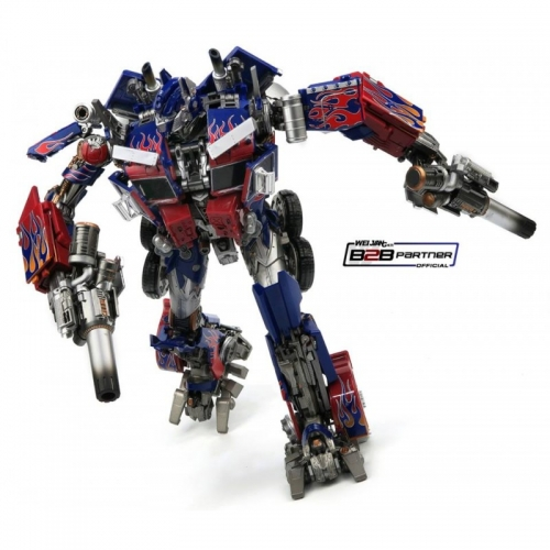 Transformer Toy WeiJiang WJ MPM-04 MPM04 Optimus Prime OP ROTF/DOTM Oversized Black Apple