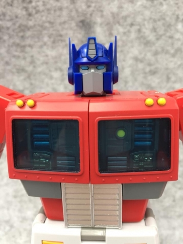 Transformer Toy Replacement head for 1st batch Transform Elemen TE-01 TE01 Optimus Prime OP