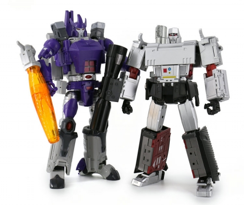 Transformer DX9 Toys D09 Suprem Leader Mightron Megatron with LED