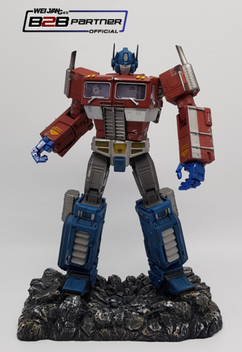 Transformer Weijiang WJ MPP10 Oversized MP10 MP-10 Batttle damaged Optimus Prime Commander Premium Limited Exclusive Edition WT Custom Display Base