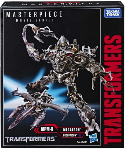 Takara Tomy Transformer Toy Masterpiece Movie Series MPM-8 MPM8 MPM08 Megatron