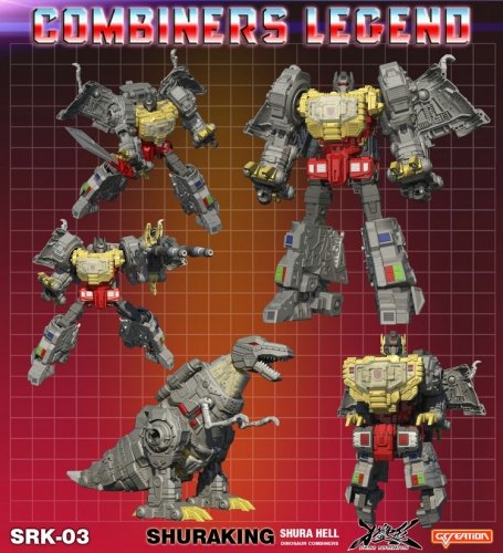 G-Creation Shuraking SRK-03 SRK03 Wrath Grimlock Dinobot Combiner