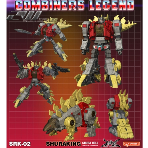 G-Creation Shuraking SRK-02 SRK02 Growl Sever Snarl Dinobot Combiner