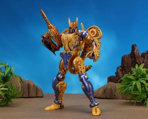Original Takara Tomy Masterpiece Japanese Version MP-34 MP34 Cheetor Beast Wars Re-issue without coin