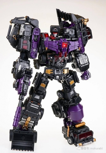 Generation Toy GT-88 BlackJudge Devastator Black Metallic Painted Version Gravity Builder