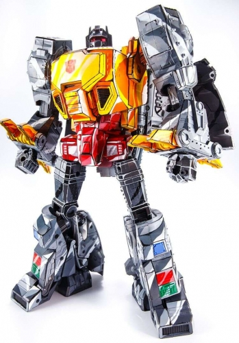 Transformer Non-Brand MP-08CS MP08CS King Grimlock Reximus Prime Oversized MP-08 MP08 Cell Shaded KO