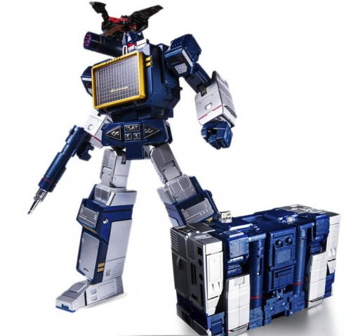 Transformer Toy House Factory THF-01J THF01J Soundwave (with Laserbeak)