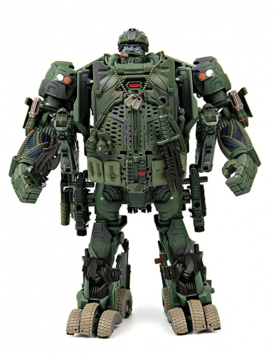 Transformer Toy WeiJiang Wei Jiang WJ M-02 M02 Robot Force Hound Oversized OS Black Apple Alloy Modified Version