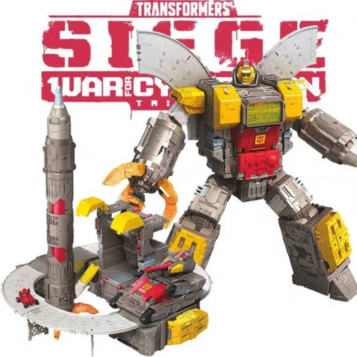 "61cm/24"" Takara Tomy Hasbro Transformers Toys Generations War for Cybertron Titan WFC-S29 WFCS29 Siege Omega Suprem Command Center"