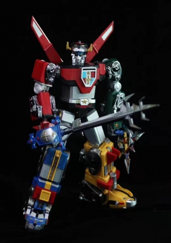 Loose Without Box Complete set of Fantasy Jewel Voltron Defender of the Universe