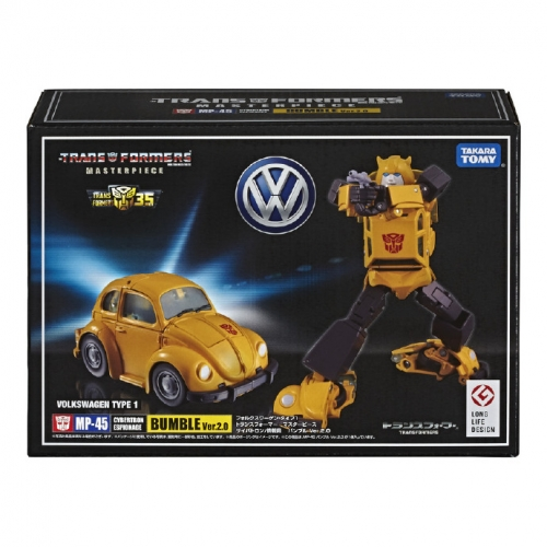 Takara Tomy Masterpiece MP-45 MP45 Bumblebee G1 Version 2.0