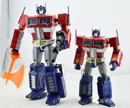 Special Price!Weijiang MPP10 oversized MP-10 MP10 Optimus Prime with Die-cast