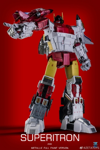 Amazing Metalic Painting version Full Set of  Zeta Toys ZB-06 ZB06 Superitron Superion